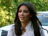 Kim Kardashian filmting for reality television
