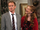 Neil Patrick Harris and Frances Conroy in 'How I Met Your Mother'