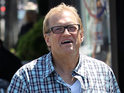 Drew Carey must rest after falling while out for a run.