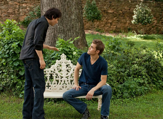 S02E01: Damon and Stefan