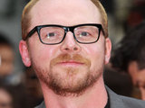 Simon Pegg at the Scott Pilgrim Preimere