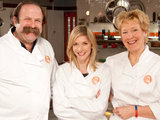 The finalists on Celebrity MasterChef
