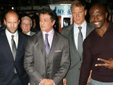 Jason Statham, Sylvester Stallone, Dolph Lundgren and Terry Crews