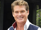 David Hasselhoff promoting his autobiography &#39;Wellengang meines Lebens&#39; in Berlin, Germany