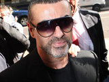 George Michael arrives at magistrates court on driving offences