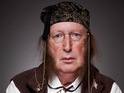 Josie tells John McCririck that he puts on an act and that he is actually a nice person.
