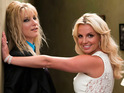 Click here to see some pictures of Britney Spears with Heather Morris on the set of Glee!