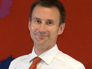 Jeremy Hunt MP, Secretary of State for Culture