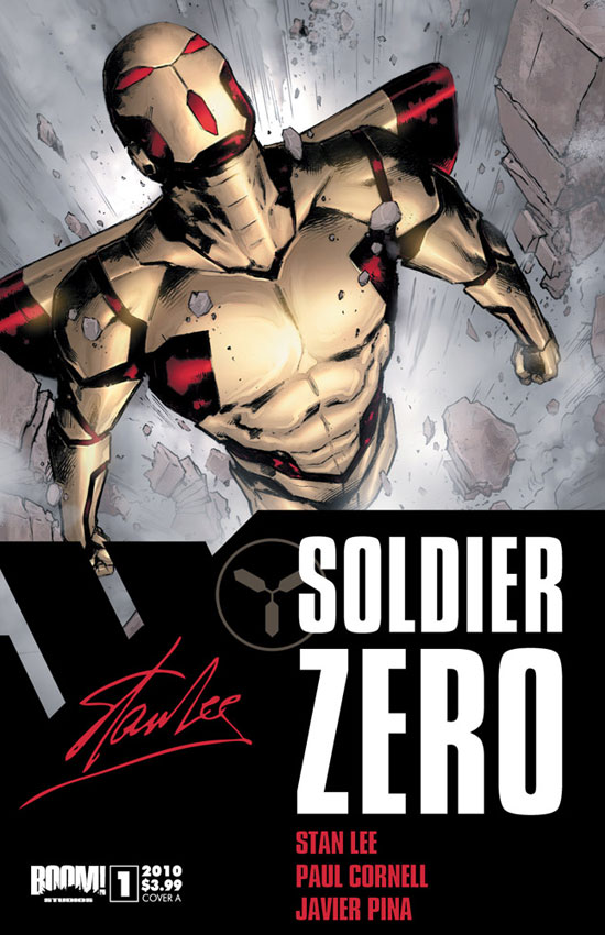 Soldier Zero from Stan Lee, Paul Cornell and Javier Pina
