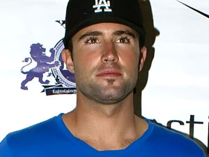 Brody Jenner outside The Stingaree nightclub where he rounded off his birthday celebrations, California