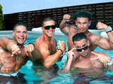 Ronnie, Vinny, Pauly D and The Situation from Jersey Shore