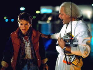 Marty McFly and Doc Brown from &#39;Back To The Future&#39;