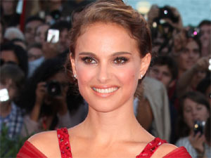 Natalie Portman attending the premiere of her new drama 'Black Swan' held at the 2010 Venice Film Festival in Italy