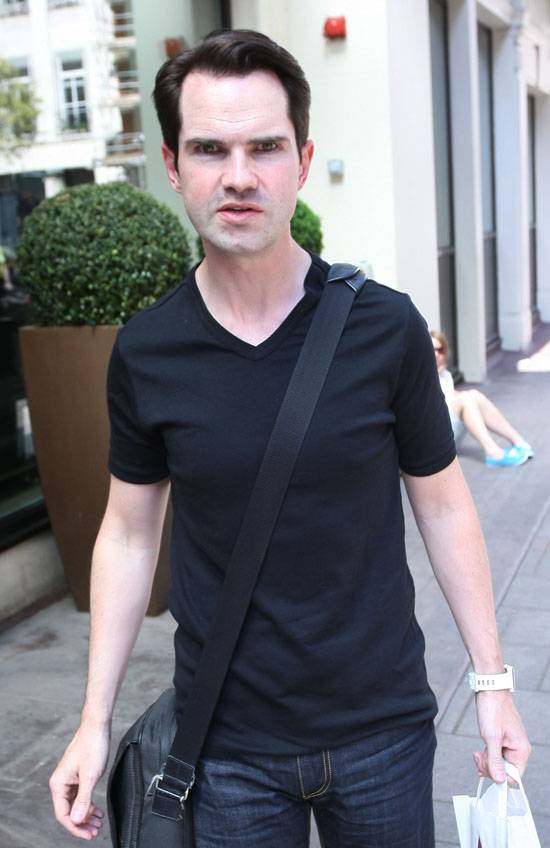 "Jimmy Carr – The self confessed ""moon face"" funny man is 38 on Wednesday"