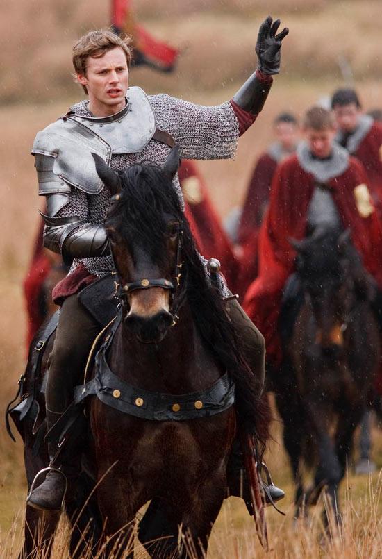Arthur rides out