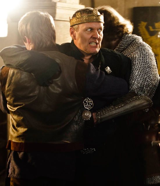 Uther is restrained