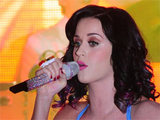Katy Perry performing live in Berlin