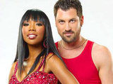 Brandy and Maksim Chmerkovskiy on Dancing With The Stars