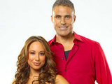 Rick Fox and Cheryl Burke on Dancing With The Stars