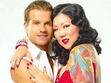 Margaret Cho and Louis Van Amstel on Dancing With The Stars