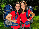Andie and Jenna from The Amazing Race 17
