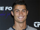 Cristiano Ronaldo attending a photocall to promote 'Time Force' watches in Madrid