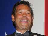 Craig Charles leaving the TV Choice Awards 2010