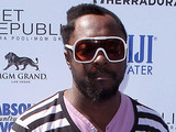 Will.i.am arrives at the Labor Day weekend at Wet Republic