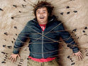 Jack Black bigs it up in the Land of Liliput in Gullivers Travels.