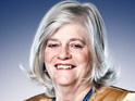Click here to see a video of Ann Widdecombe training for Strictly Come Dancing.