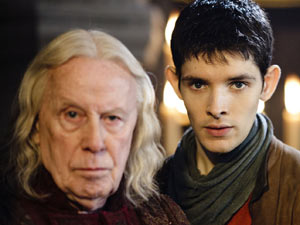 Merlin S03E01: The Tears of Uther Pendragon - Merlin and Gaius