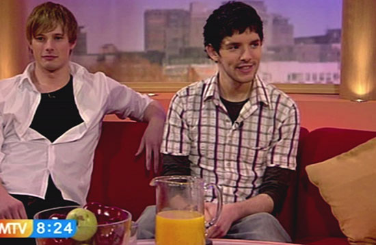 Colin and Bradley James