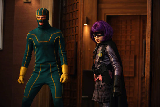 Kick-Ass and Hitt Girl