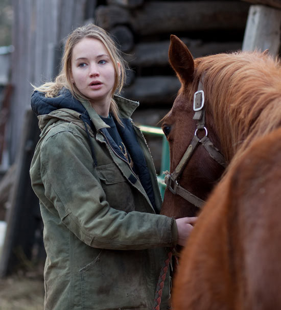 Jennifer Lawrence in Winter's Bone