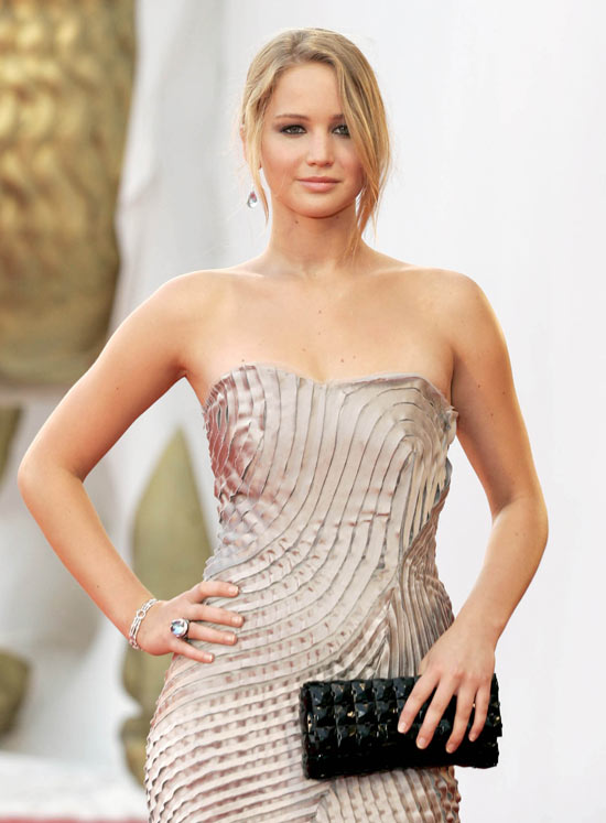 Jennifer Lawrence at the Venice Film Festival.