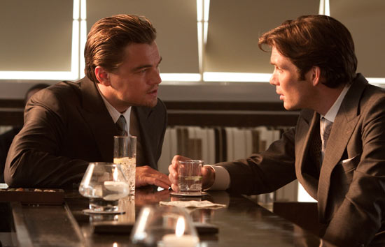 Leonardo DiCaprio and Cillian Murphy