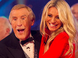Strictly Come Dancing presenters Tess Daly and Bruce Forsyth