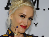 Gwen Stefani at the Mecedez-Benz IMG New York Fashion Week