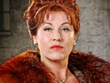 Jessie Wallace as Pat Phoenix in The Road to Coronation Street