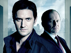 Harry Pearce and Lucas North from Spooks