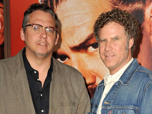 Adan McKay and Will Ferrell at the premiere of 'Eastbound and Down: Season 2'