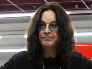 Ozzy Osbourne signs copies of his new album &#39;Scream&#39; at Affliction, Moscow
