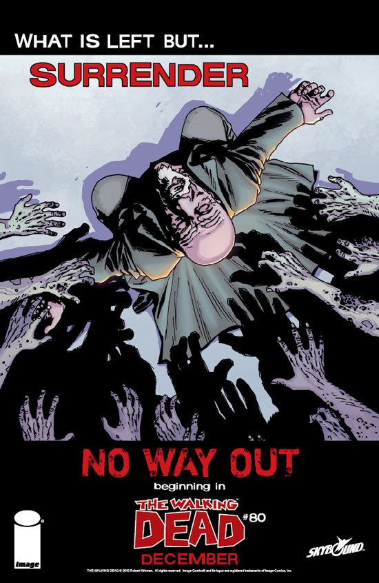 The Walking Dead #80, No Way Out
