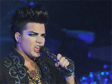 Adam Lambert in concert for Los Angeles leg of his 'Glam Nation' tour at the Hard Rock Casino in Hollywood