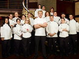 Gordon Ramsay and the chefs of Hell's Kitchen season 8 (USA)