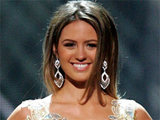 'Miss Australia' Jesinta Campbell at the 2010 'Miss Universe' pageant after party