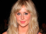 Diana Vickers at the London Fashion Week