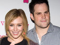 Hilary Duff says that it was love at first sight when she met husband Mike Comrie.
