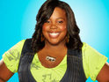 Amber Riley says that she was glad of her co-stars' support when singing for the US President last year.