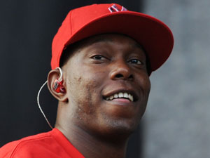 Dizzee Rascal - The 'Bonkers' star turns 25 on Friday